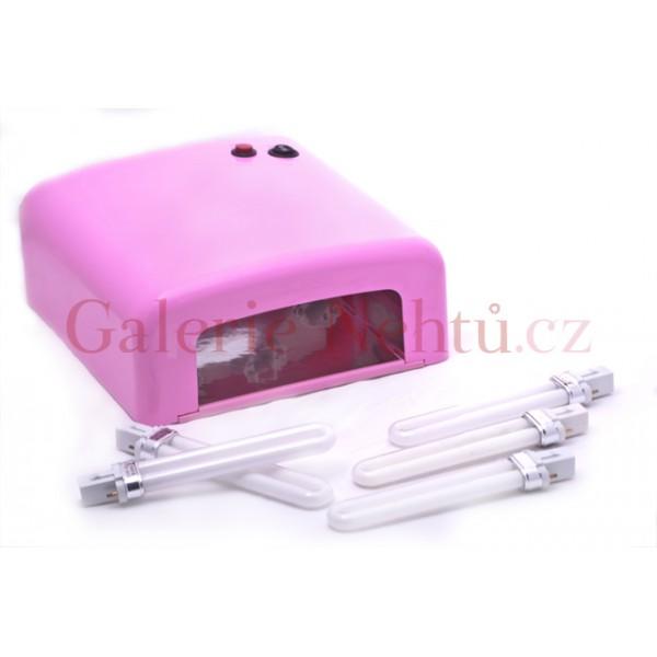 UV lampa a zářivky